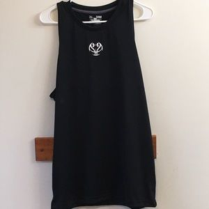 Under Armour Men's Sz XL/TG Fitted Black Tank Top
